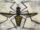 ミツバチ(リトグラフ)