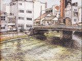 博多川沿いの町 川端商店街