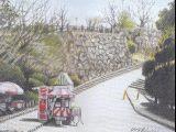 福岡城跡 二の丸入口