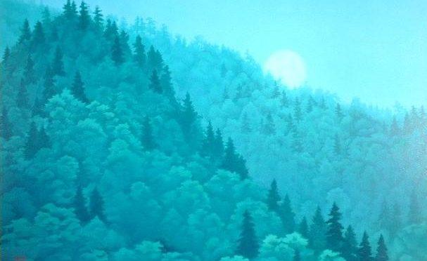 東山魁夷「明宵」