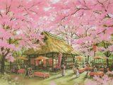 シーズンズスイート 桜茶屋(リトグラフ)