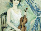 シャロワ「ヴァイオリンを持つ少女」⇒売却済み