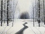 加山又造「雪」木版画→売却済み
