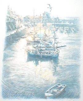 笹倉鉄平「フィッシング・ボート」
