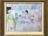 画家とバレリーナ