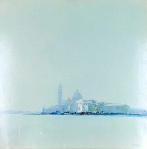 ドートルロー「ヴェネツィア」(油彩)