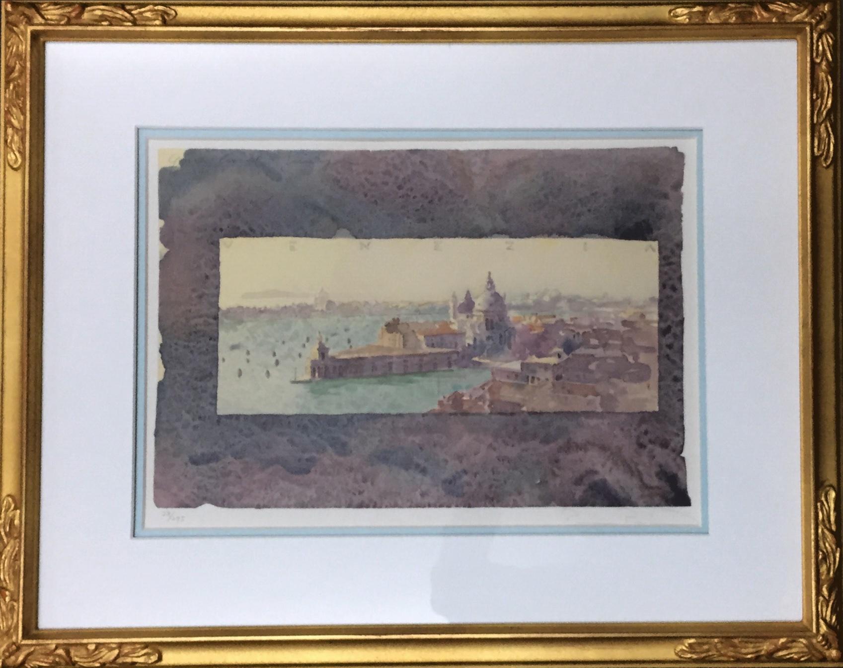 リャド「グランカナル」リトグラフ 23×34