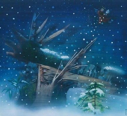 天使シリーズ - 天使の雪