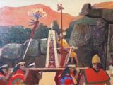 太陽の祭り(インティライミ) 油彩 M20号