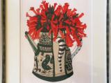 花(エッチング 彩色)