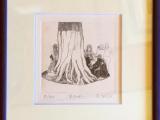 木かげ(エッチング)