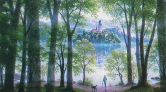笹倉鉄平「心静まる」~Lake Bled~