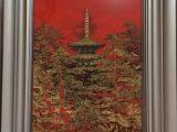 塔(日本画 8号)